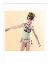 Girls 2T Tinkerbell Tinker Bell Postcard  2 pc Tankini swimsuit swim suit NWT