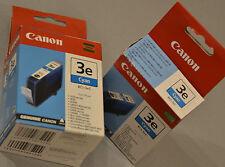 (PRL) CANON LOTTO BCI-3eC CARTUCCIA INCHIOSTRO INK CARTRIDGE ORIG. LOT BCI-3C