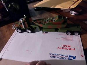 Plastic Army toys truck trailer boat collectable vintage novelty vanity #11