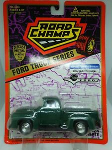 Road Champs FORD F100 Truck Series 1.43 Diecast Pick Up Truck Mint On Card