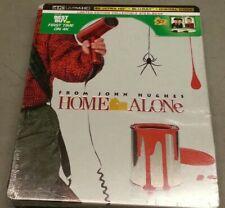 New! Home Alone (Limited Edition Steelbook) [4K Ultra Hd + Blu-ray + Digital Hd]