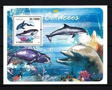 Saint Thomas et Prince 2009 baleines et dauphins bloc n° 514 neuf ** 1er choix