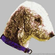 Embroidered Sweatshirt - Bedlington Terrier DLE1479 Sizes S - XXL