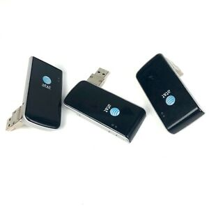 At&t Aircard Internet SIM Lot Of 3 USB Connect N7NU305 3G Card Plug In Laptop