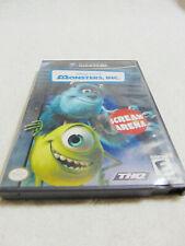 GameCube  Monsters, Inc.: Scream Arena (Nintendo , 2002)  case and disc