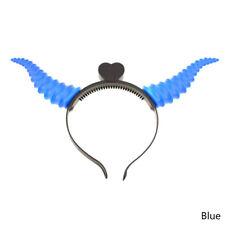 LED Devil Horn Light Up Headband Flashing Horn Halloween&Christmas Party Gift HK