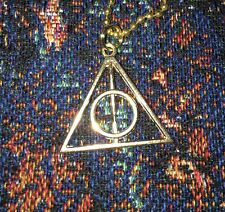 1 Deathly Hallows Necklaces For Harry Potter Halloween Costume Cosplay Gift