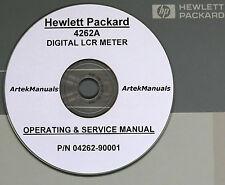 HP 4262A Digital LCR Meter Operating & Service Manual