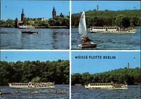 BERLIN Ost Hauptstadt DDR Mehrbild-AK Weiße Flotte Schiffe Köpenick Salonschiff