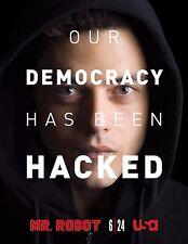 Mr. Robot Season 1 TV Poster (24x36) - Rami Malek, Christian Slater f society v1