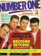 Brother Beyond on Magazine Cover 27 August 1988    Yazz   Eddie Murphy