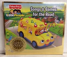 Fisher Price- Little People Songs & Games for the Road CD, Gold Edition