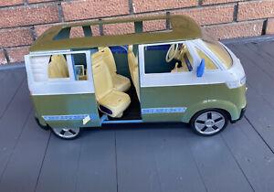 Barbie Happy Family Volkswagen VW Microbus Van Sliding Door Purple Green 2002