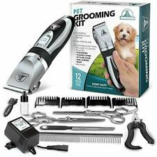 Pet Union Professional Dog Grooming Kit - Rechargeable, Cordless Pet Grooming
