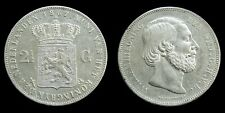 Netherlands - 2½ Gulden 1867 Zeer Fraai/Prachtig