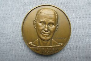 Paquebot Foucauld -- Chargeurs Reunis -- 1948 -- Bronze Medal -- French Liner