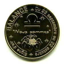 13 AUBAGNE Les signes du zodiaque, La Balance, 2016, Monnaie de Paris