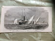 a2g ephemera 1863 picture prince of wales yacht club chapman head