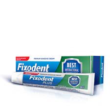 Fixodent Plus dual Protección adhesivo para dentadura crema Foodseal
