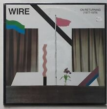 WIRE - ON RETURNING 1977 1979 - SEALED - RARE