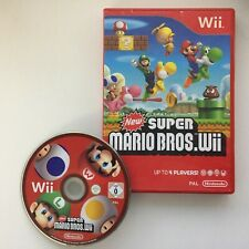 New Super Mario Bros Wii Game for Nintendo Wii, TESTED, Free Postage!