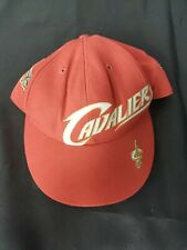 Vintage Official NBA Cleveland Cavaliers Red Cap Hat Size 7 1/4
