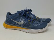 Nike Lunar Trainer 1 blue yellow womens size 6.5