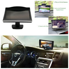 "5"" TFT LCD Digital Color Car Rear View Monitor Display Screen Backup Camera Hot"