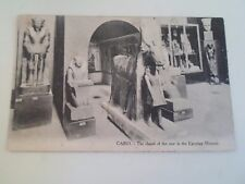 Vintage Postcard Chapel of the Cow in The Egyptian Museum CAIRO L.C. 600 §R73