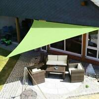 12' Sun Shade Sail UV Block Canopy Patio Lawn Pool Awning Top Cover Outdoor US