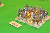 25mm dark ages / byzantine - cavalry 10 figs (as photo) - (49666)