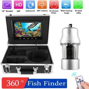 50m Underwater Fishing Video Camera Fish Finder Waterproof 360 ° Rotating Camera