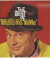 The Best of What's His Name JACK PAAR Vinyl LP 33 Comedy Record EX 1950s Mono