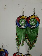 hand made $10 each.Free Shipping Maasai earrings, masai jewelry all