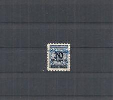 Deutsches Reich, 1923 Michelnummer: 335 B o, entwertet o