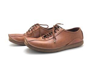 Clarks Herren Sneaker Freizeitschuhe Schnürschuhe Comfort Braun Gr. 44 (UK9.5)