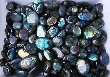 WHOLESALE PRICE!22lb(100-120Pcs) Natural Labradorite Crystal Rough Polished