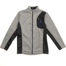 Spyder Jacket Youth Xl Mens Small Grey Black
