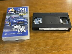FAI 1000 CLASSIC Mt. Panorama Bathurst 1998 Highlights PAL VHS (vgc) Free Post