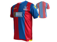Macron Crystal Palace Heim Trikot rot blau CPFC Home Shirt Eagles Fan Jersey GrM
