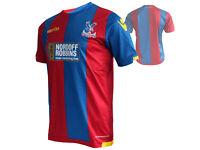 Macron Crystal Palace Heim Trikot rot blau CPFC Home Shirt Eagles Fan Jersey GrM