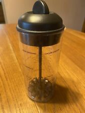 Pampered Chef Measure Mix And Pour Salad Dressing Mixer Maker 16oz Lid 2265 Usa