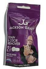 Jackson Galaxy Cat Dog Stain Odor Extra Strength 2 Packs Refill Makes 64 oz