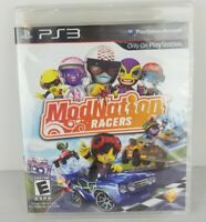 PS3 ModNation Racers Sony PlayStation 2010 New Factory Sealed