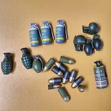 1/6 Scale US Grenade Lot