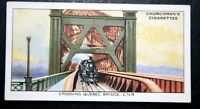 Canadian National Railway  CNR Quebec Bridge      Original Vintage Card