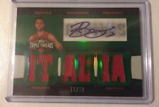 Andrea Bargnani Rookie RC Auto Topps Triple Threads # 18/18 Free Shipping