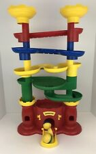 Discovery Toys Castle Marbleworks Tall Play Tower With Marbles Balls Excellent
