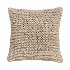 COVE NATURAL Square Filled Cushion 41cm x 41cm - Private Collection