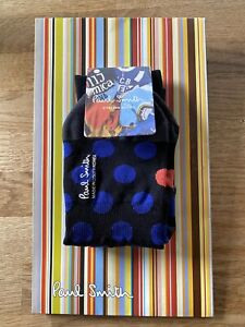 "Paul Smith Mens Cycling Socks ""L"" Brand New"